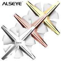 ALSEYE X12 Einstellbare RGB 120mm 3-stück Computer Fall Fan Set PWM Aussehen Beschichtung Prozess Kompatibel mit Sync 3pin VDG MB