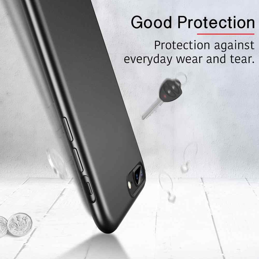Caso ESR per 2020 iPhone SE 2nd Gen 8/7/6/6S Plus Antiurto Duro Integrale posteriore Del Telefono di Protezione Della Copertura Della Cassa di Resistenza di Impronte Digitali