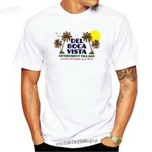 Del Boca Vista Funny Seinfeld Inspired Retirement Home Art Deco Design T Shirt