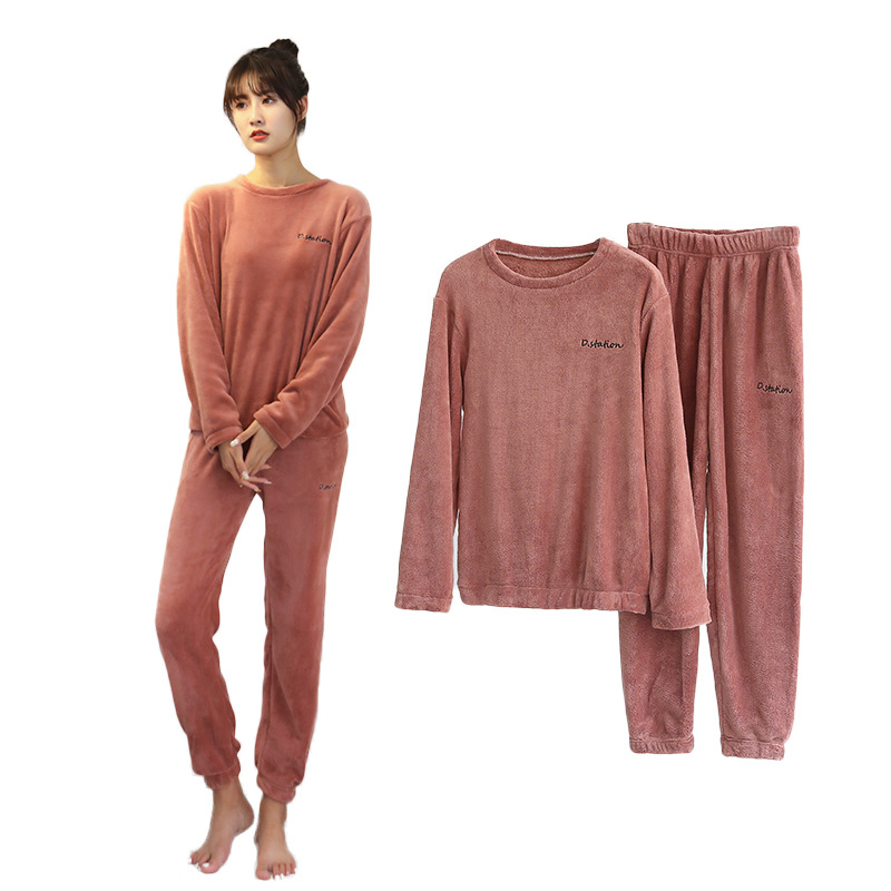 2020 Women Or Men Autumn And Winter Warm Pants Sweater Suit ,casual Trousers Large Size Loose Outerwear,Tracksuit