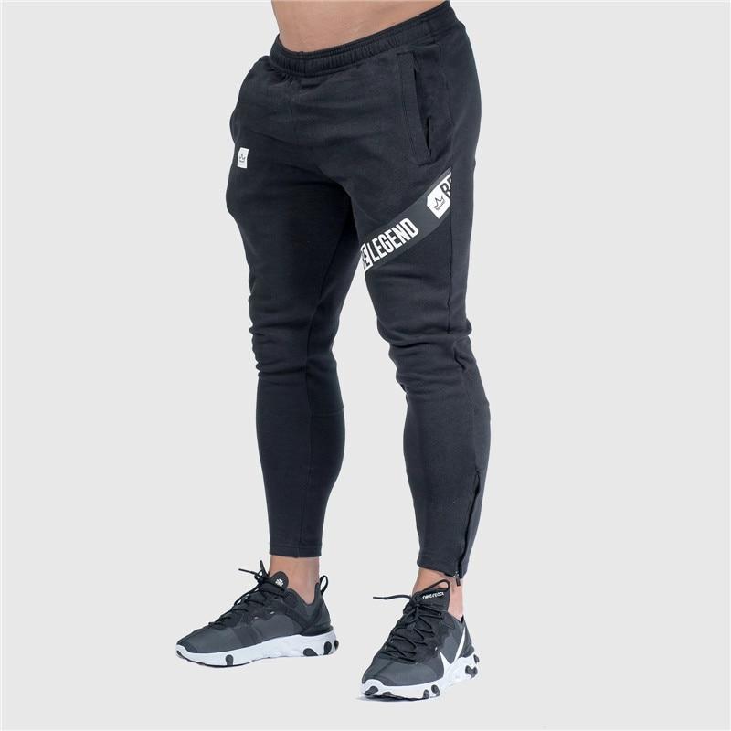 Pants Men Pantalon Homme Streetwear Jogger Fitness Bodybuilding Pants Pantalones Hombre Sweatpants Trousers Men SH 19