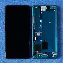 """6.47 """"Original Für Xiaomi Mi Hinweis 10 Mi Hinweis 10 Pro LCD Display Rahmen + Touch Panel Digitizer für Xiaomi CC9 Pro"""