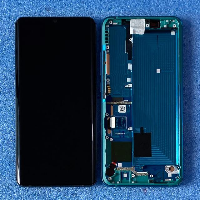 """6.47 """"Original pour Xiaomi Mi Note 10 Mi Note 10 Pro cadre daffichage décran LCD + numériseur décran tactile pour Xiaomi CC9 Pro"""