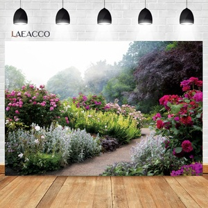 Image 4 - Laeacco Spring Natural Scenery Backgrounds Jungle Forest Wonderland Baby Child Portrait Photography Backdrops Newborn Photocall