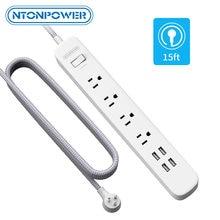 Nton power us plug outlet extension универсальная лента питания