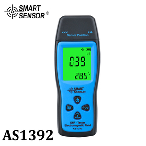 Digital radiation dosimeter Mini EMF Tester LCD Electromagnetic Field Radiation Detector Dosimeter Tester Meter Counter handheld
