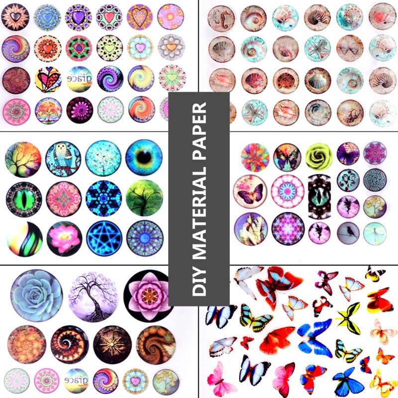 Epoxy Resin DIY Filling Material Sticker UV Crystal Silicone Molds Making Creative New Stickers Y4QB