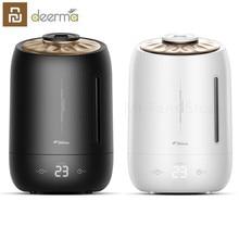 Youpin deerma 5L powietrza domu ultradźwiękowy nawilżacz dotykowy wersja oczyszczania powietrza do klimatyzowanych pokoi biuro gospodarstwa domowego D5