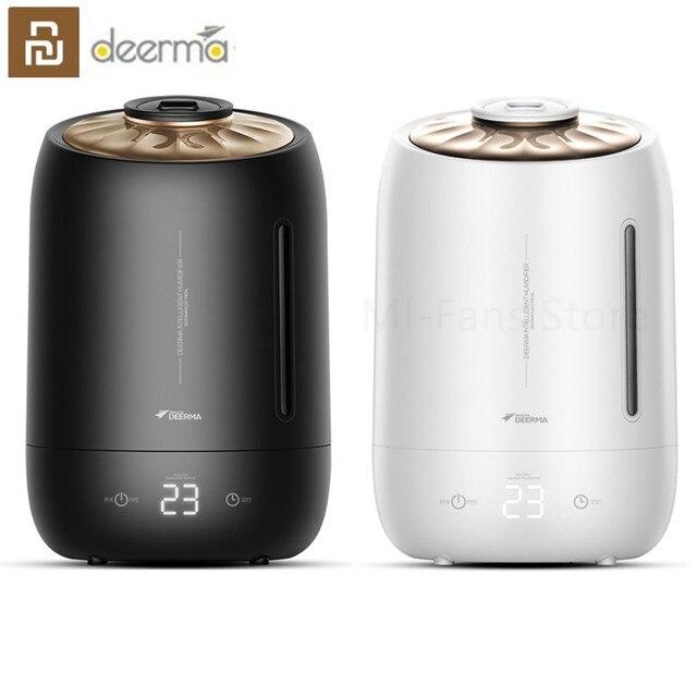 Youpin deerma 5L الهواء المنزل مرطب بالموجات فوق الصوتية اللمس الإصدار تنقية الهواء للغرف مكيفة الهواء مكتب المنزلية D5