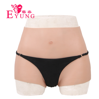 2020 EYUNG silicone silicone pant with artificial penetrable fake vagina transgender Shemale Underwear crodressing Drag Queen