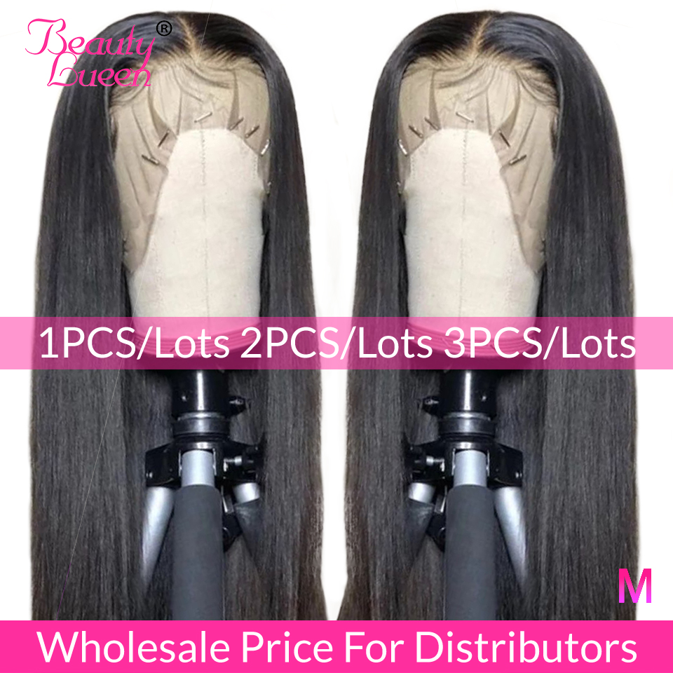 13x4 Lace Front Human Hair Wigs 150% 180% 200% Free Part Brazilian Straight Lace Front Wigs With Baby Hair For Black Women Remy