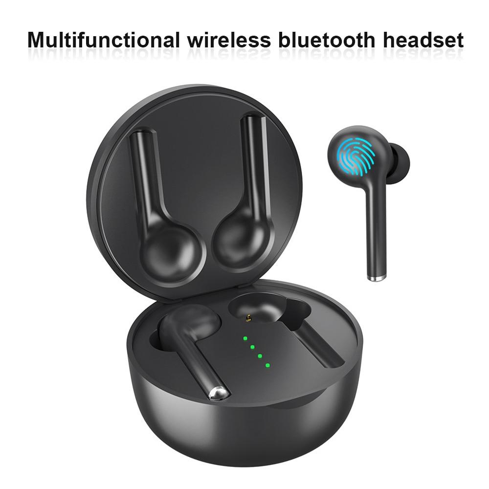 TW40 Wireless Bluetooth 5.0 Earphones Mini Earbuds Sport Handsfree Headphones Headset With Charging Box For All Smart Phones