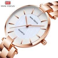 MINIFOCUS Women Watches Luxury Brand Casual Fashion Ladies Quartz Womens Dress Watch Ladys Montre Femme Wrist Watch