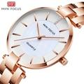 MINIFOKUS Frauen Uhren Luxus Marke Casual Fashion Damen Quarz Frauen Kleid Uhr Ladys Montre Femme Armbanduhr