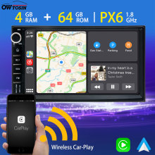 Radio GPS TDA7850 Universal PX6 2din Android Multimedia-Player Navigation Auto-Stereo