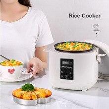 2L электрическая рисоварка кухонная интеллектуальная плита с антипригарным дном рисоварка машина Поддержка назначения времени светодиодный дисплей