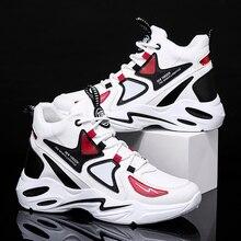 Кроссовки мужские легкие из дышащего материала, Повседневная модная спортивная обувь для бега, Зимние удобные