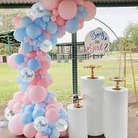 Reveal Gender-vajilla de látex para niña o niño, globo de confeti para Baby Shower, globos de bautizo y bautismo, Babyshower