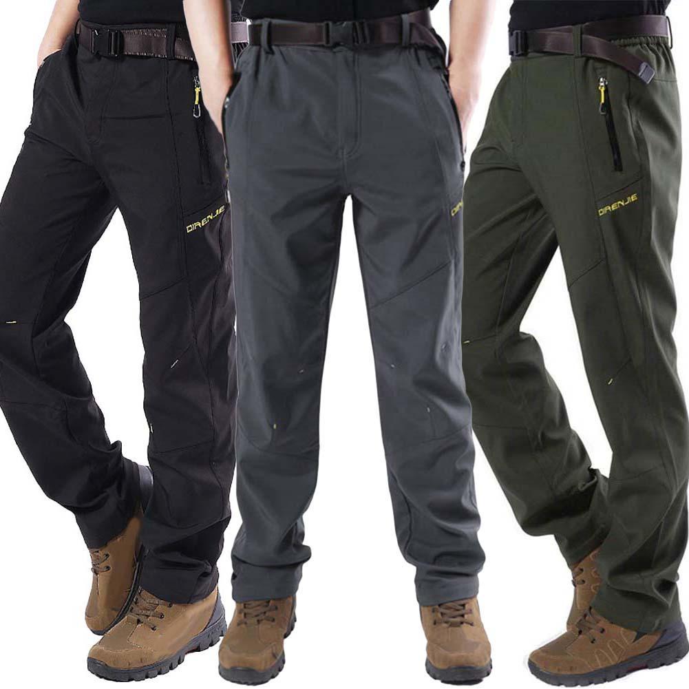 Men's Outdoor Sports Pants Waterproof Hiking Pants Trousers спортивные штаны мужские