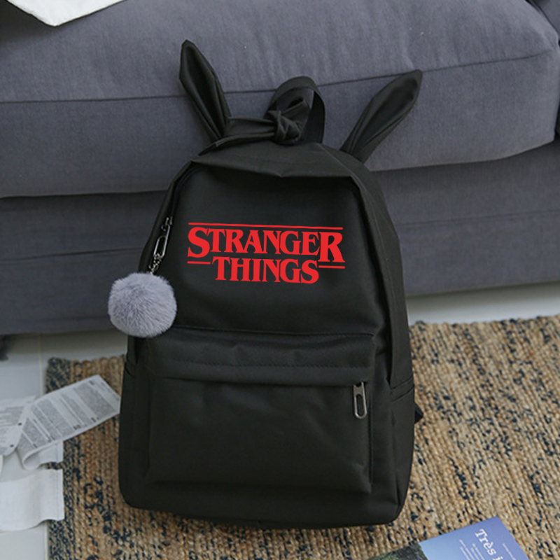 New Stranger Things Canvas Backpack Men/women Scoops Ahoy Bagpack Laptop Harajuku Travel School Backpacks Male/female Sac A Dos