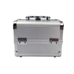 Europa Und Amerika Bestseller-Top Grade Make-Up Box Aluminium Legierung Hand Make-Up Lagerung Guangzhou Tasche Hersteller Direkte Selli