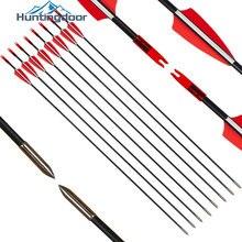 Стрелы из стеклопластика для охоты стрелы и 31 дюйм диаметр
