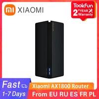 Xiaomi-enrutador inalámbrico AX1800, repetidor WIFI VPN de doble frecuencia, 256MB, 2,4G, 5G, Gigabit, OFDMA, amplificador de señal PPPoE, nuevo
