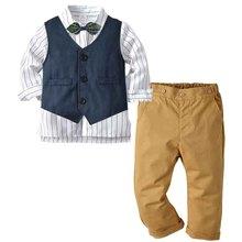Baby Kids Formal Blazer Suits for Weddings Boys Costume Gent