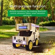 Keyestudio Smart RV Robot  Starter  Kit  Motorhome House Car for Arduino Robot  STEM  Programming Car Toys for Kids Android/IOS