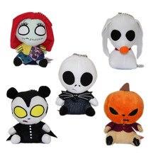 Nightmare Before Christmas Jack Skellington Plush Toys Doll Skull Jake Stuffed for Kids Halloween Gifts