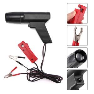 Image 2 - Pistola de sincronización de encendido profesional, lámpara estroboscópica inductiva para motor de coche, herramientas manuales de motocicleta, probador de reparación