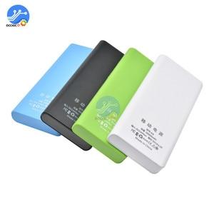 Image 2 - 8x18650 Caixa de Bateria Carregador De Banco de Potência Titular Caso Reservatório de Plástico DIY Kit 18650 LCD Display Celular Porta USB sem Bateria