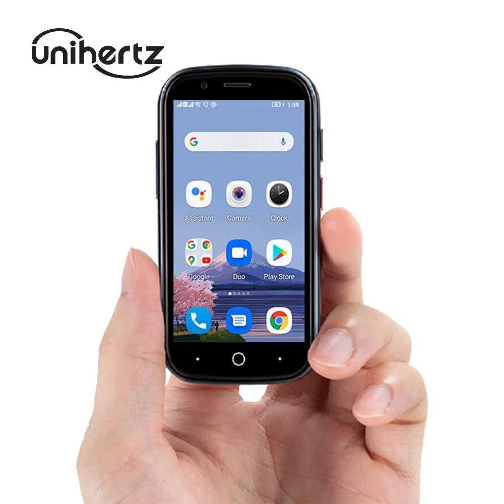 Оригинальный Unihertz Jelly 2 во всем мире самый маленький мобильный телефон Android 10 Helio P60 Octa Core, 4G, LTE смартфон 6 ГБ + 128 Гб телефон NFC