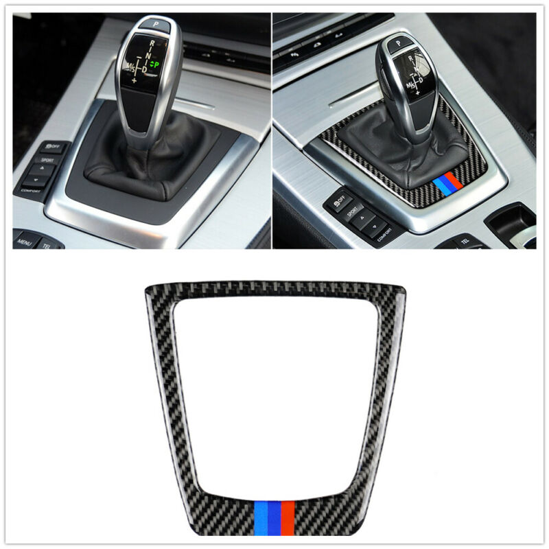Car Gear Shift Trim Car Styling Interior Inner Decoration Strips Trim For BMW Z4 E89 2009-2015 Cars Auto Protection  Accessories