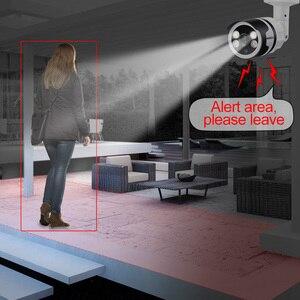 Image 3 - Камера видеонаблюдения Misecu, 4 канала, 8 каналов, AI, функция распознавания лиц, POE, NVR, 1080P, двусторонняя аудиосвязь, для наружного использования