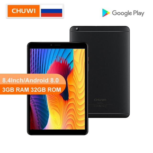 CHUWI الأصلي Hi9 برو أندرويد 8.0/8.1 اللوحي MT6797 X20 عشاري النواة 3GB RAM 32GB ROM 2K شاشة مزدوجة 4G اللوحي 8.4 بوصة اللوحي