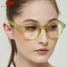 Meeshow-lunettes de lecture rétro Style français, avec dioptrie, 0 + 1.0 + 1.5 + 2.0 vert, pour hommes et femmes