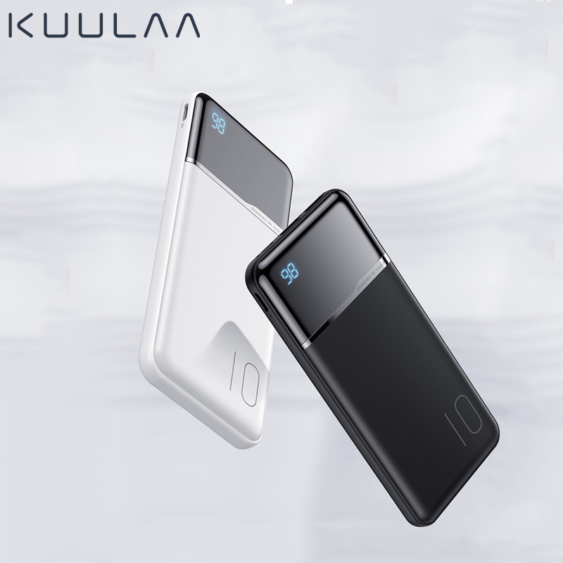 KUULAA <font><b>Power</b></font> <font><b>Bank</b></font> 10000mAh Portable Charging PowerBank <font><b>10000</b></font> mAh USB PoverBank External Battery Charger For Xiaomi <font><b>Mi</b></font> 9 8 iPhone image