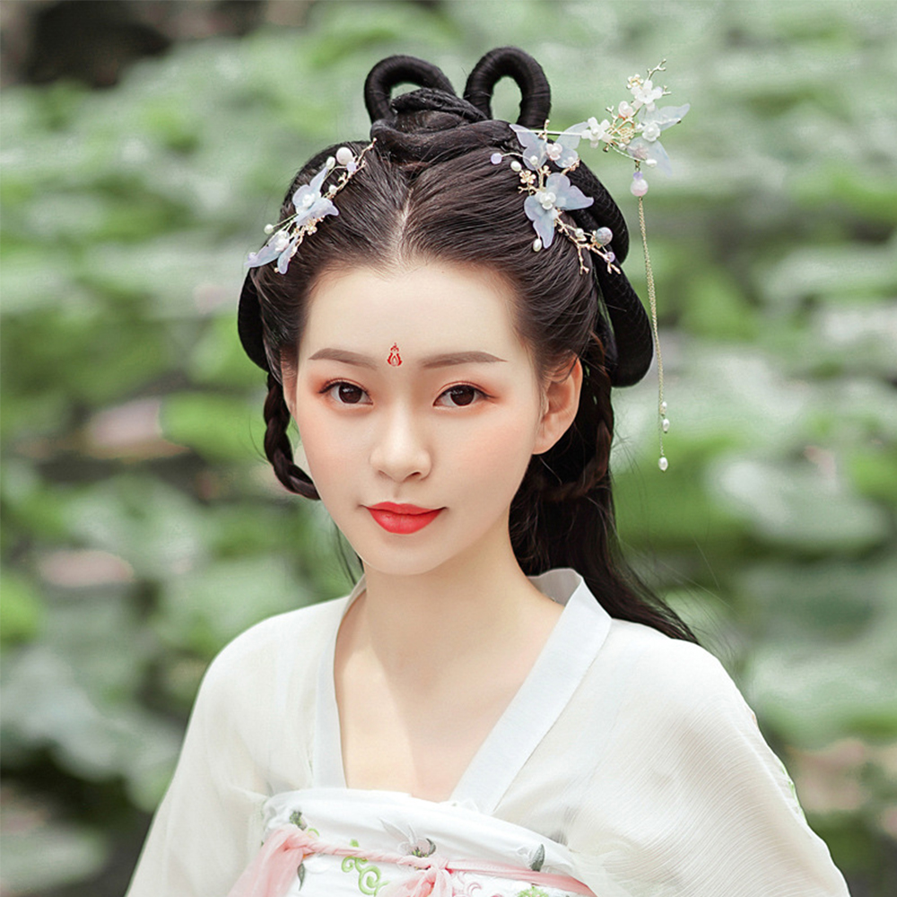 Women Chinese Style Butterfly Hair Clip Hanfu Hair Accessories 4 Styles