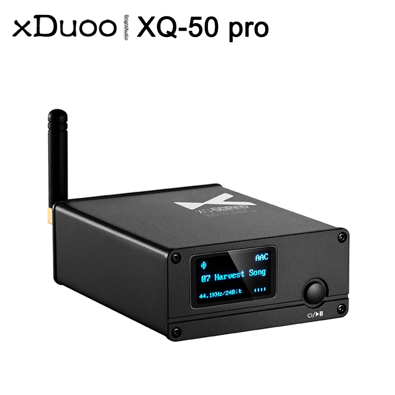 XDUOO ES9018K2M USB DAC Buletooth 5.0 Audio Receiver Converter XQ50 Pro XQ-50 Support AptX/SBC/AAC Rejuvenate Your DAC/AMP