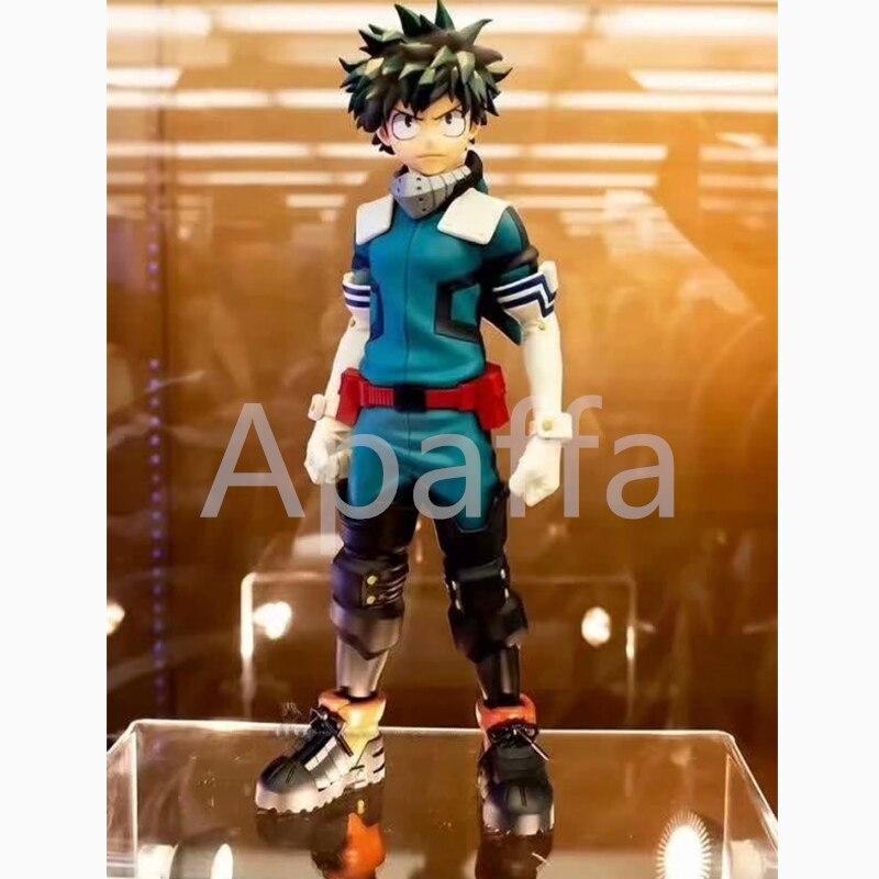 25cm japão meu herói academia os heróis surpreendentes midoriya izuku grandista pvc coleção figura modelo brinquedos bonecas