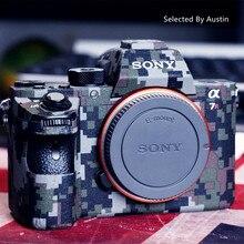 カメラスキンデカールケースプロテクターラップソニー A7R4 A7R3 A7M3 A7R2 A7M2 A7 a6500a6400 a6000