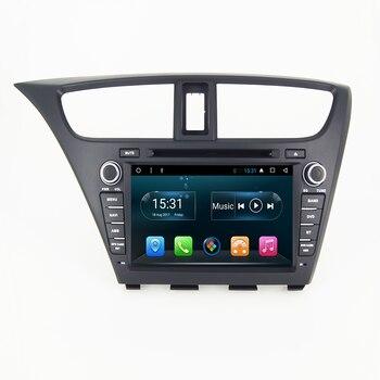 Reproductor de dvd para coche, NO-2din, android, navegador gps, 5D, honda-civic 7,...