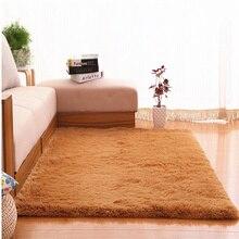 Мягкий шерстяной бархатный ковер для помещений, ворсистые коврики для детей, игровой ковер для дивана, гостиной, спальни, коврики