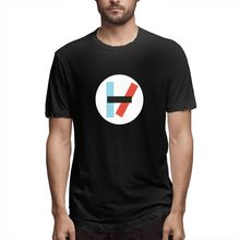 2019 Mens Short Sleeve T-shirt 3D Print t shirt Twenty-One Pilots Classic Sign Cotton Funny homme Top Tees