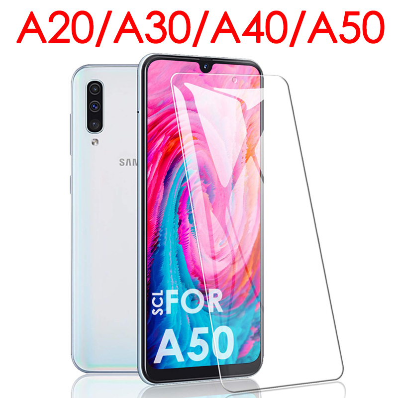 <font><b>A</b></font> 30 Protective <font><b>Glass</b></font> For <font><b>Samsung</b></font> A50 A40 A30 A20 Screen Protector On Sam Galaxy <font><b>A</b></font> 20 40 <font><b>50</b></font> 50A 40A 30A Armor Tempered Glas Film image