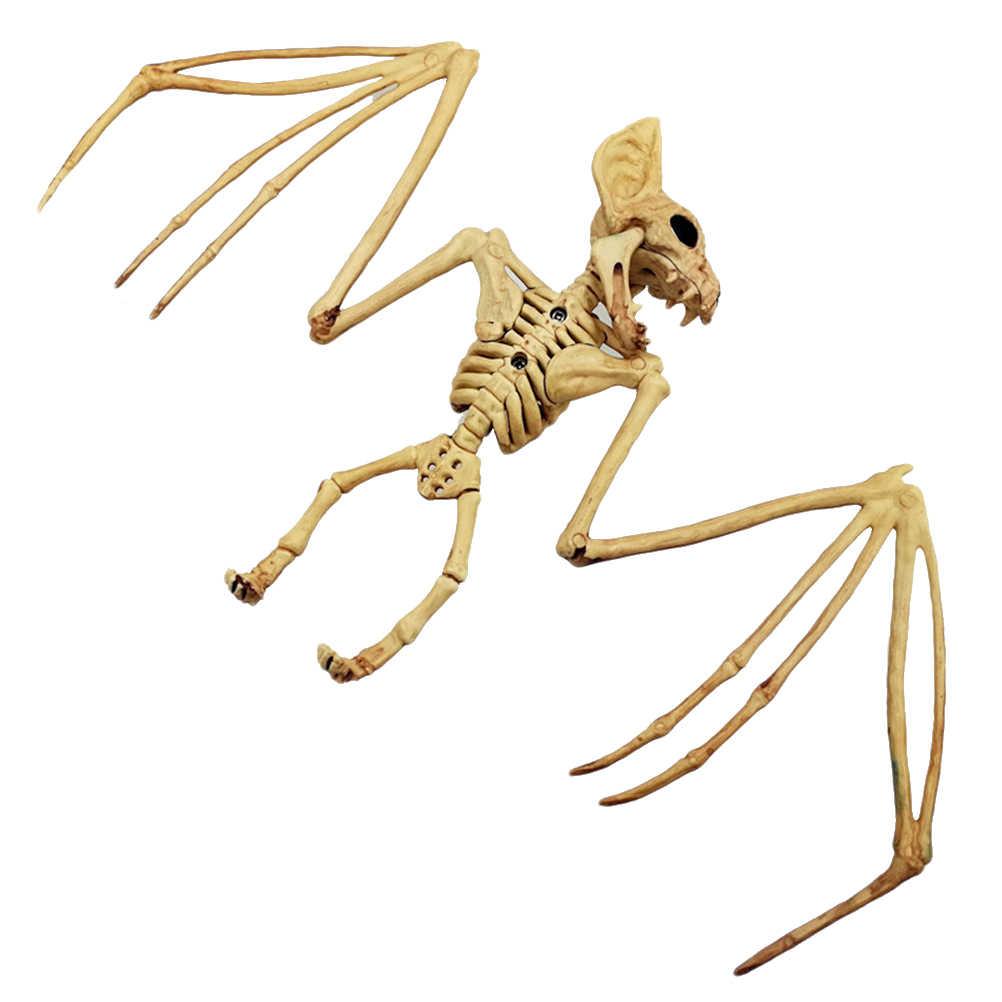 Pvc Assemblage Squelette Simulation Chauve Souris Souris Araignee Corbeau Modele Jouets Cadeaux Horreur Simulation Squelette Halloween Fete Decoration Aliexpress