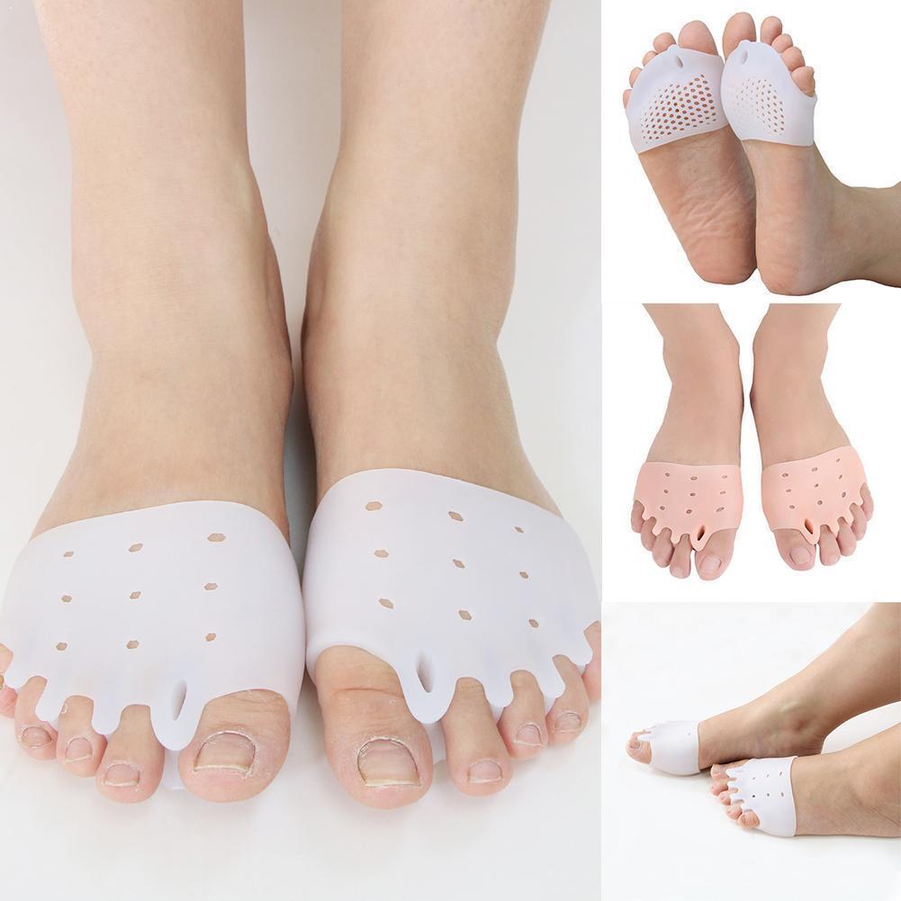 Toe Separator Bunion Corrector Hallux Valgus Foot Care Orthotics Bones Overlapping Protector 2pcs Pedicure Tool Silicone Di G4C1