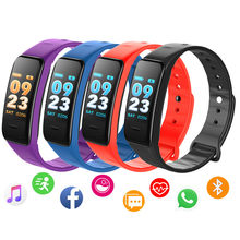 NEW Smart Bracelet Sport Fitness Tracker Pedometer Heart Rate Men Women Watch Waterproof Bluetooth Smart Band for Android IOS(China)