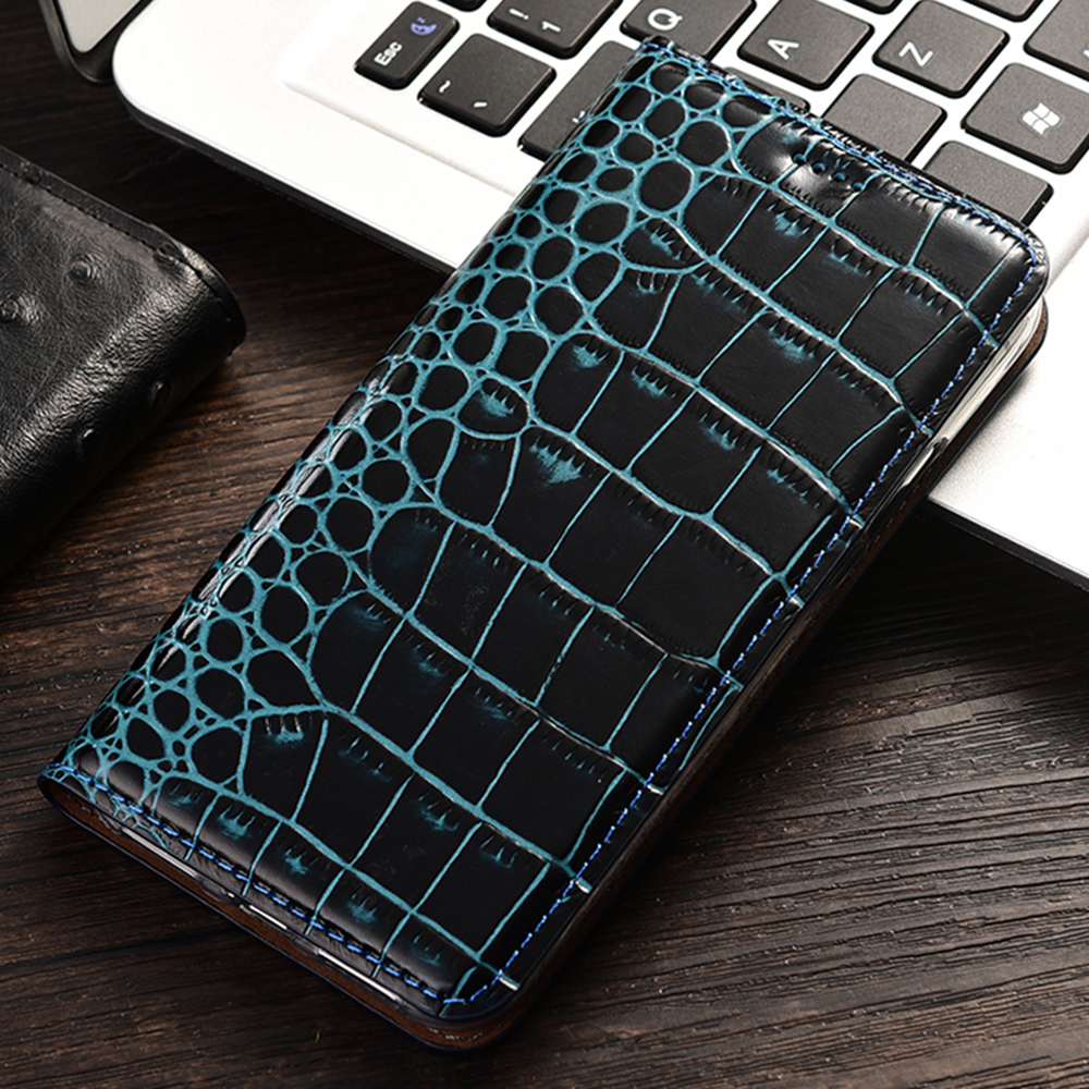 Crocodile Grain Flip Phone Leather <font><b>Case</b></font> <font><b>For</b></font> <font><b>Lenovo</b></font> S60 S90 S580 S660 S850 S860 <font><b>S939</b></font> P70 P780 K80 P90 Vibe Shot Z90 <font><b>Cases</b></font> image
